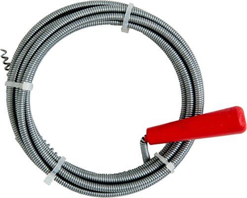 Cornat Spirale per pulizia tubi, con manovella e artiglio, diametro 6mm, 3metri, 1pezzo, T595500