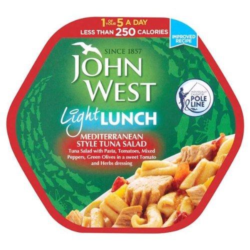 John West Light Lunch Mediterranean Style Tonno Insalata 6x220g
