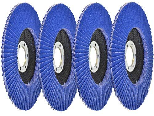 Fächerscheibe 125 Mix-Pack/K-40/60/80/120 / Fächerscheiben 125mm für den Winkelschleifer