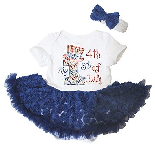Petitebelle - Body - Bébé (fille) 0 à 24 mois rouge Red 0-3 mois - rouge - taille unique