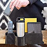 The Night Caddy Deluxe Bedside Organizer - Includes USB Charger, Power Cord, Adjustable Attachment