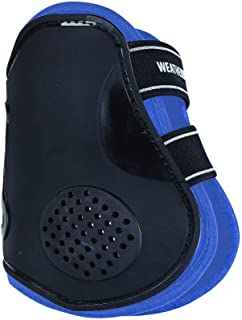WEATHERBEETA PRO AIR Fetlock Boots Black/Blue Warmblood Horse Rug