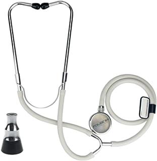 Estetoscopio Médico De Una Cara De Doble Uso Auricular Adulto Niño Mujer Embarazada Hogar Fetal Corazón Instrumentos De Plata
