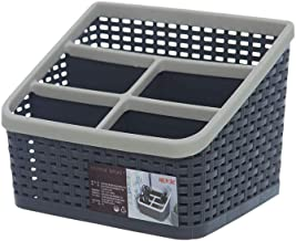 Citylife L-7150 Multipurpose Desk Organizer, 196x145x144mm, Coal