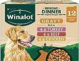 2 x Dog Sunday Dinner Dog Pouches in Gravy 12 x 100 g