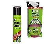 DR. WACK_bundle REIFENGLANZ DAUERHAFTER Schutz Spray + FELGENREINIGER Power Gel FELGENPFLEGE