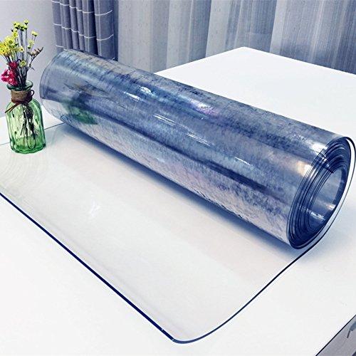 SANDM Manteles de plástico de pvc transparente