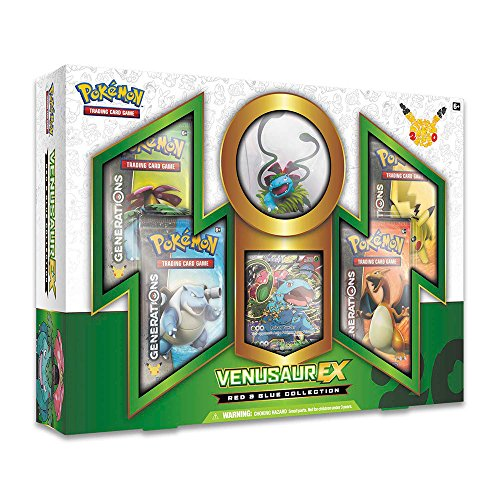 PoKéMoN Rosso e Blu Venusaur-Ex Collection Box