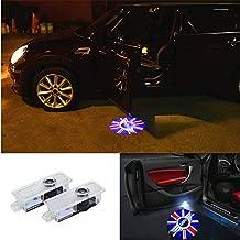 Door Light LED Logo Projector Light For Mini Cooper Clubman Clubvan R55 F54 09-17 Countryman R60 10-17 Paceman R61 12-16 Roadster R59 12-16 (2 Pcs) …