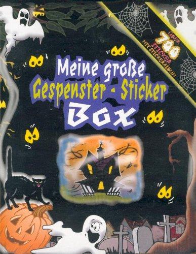 Meine große Gespenster-Sticker Box. Über 700 Sticker. Mit Stickeralbum. (Spooky Stickers Medium Box)