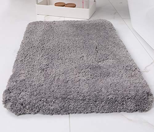 Wanzhan Luxury Gray Thick Bath Mat