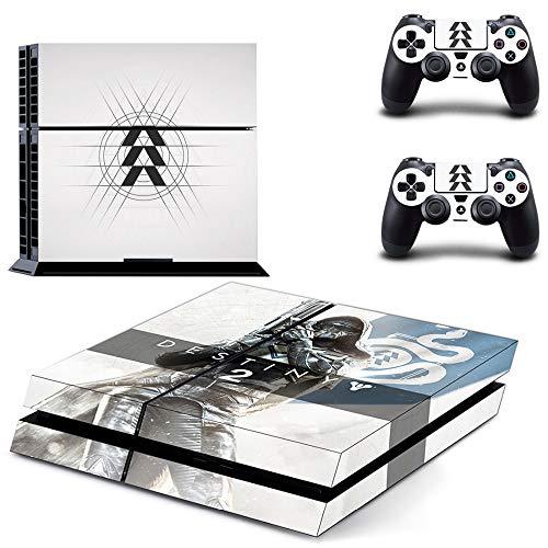 FENGLING Spiel Destiny 2 Hunter Ps4 Skin Sticker Aufkleber für Sony Playstation 4 Konsole und 2 Controller Ps4 Skin Sticker Vinyl