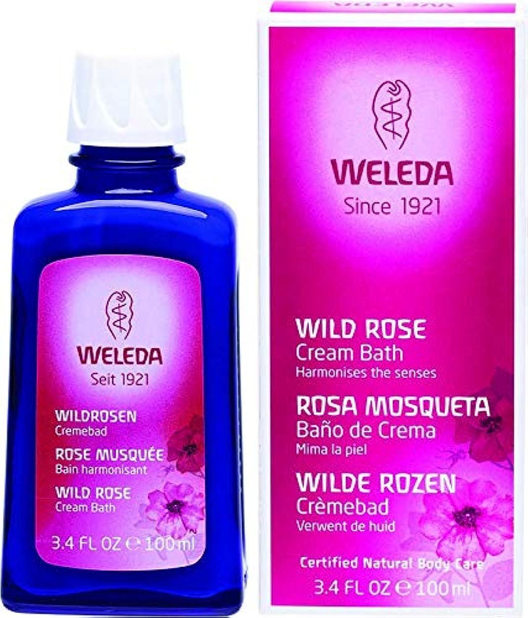 答え改革沿ってWELEDA(ヴェレダ) ワイルドローズ クリームバスミルク 100ml