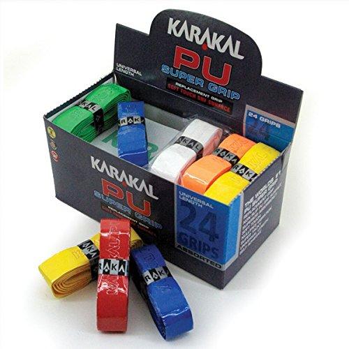 10 x Karakal super poignées de remplacement PU Noir-Tennis-squash-badminton