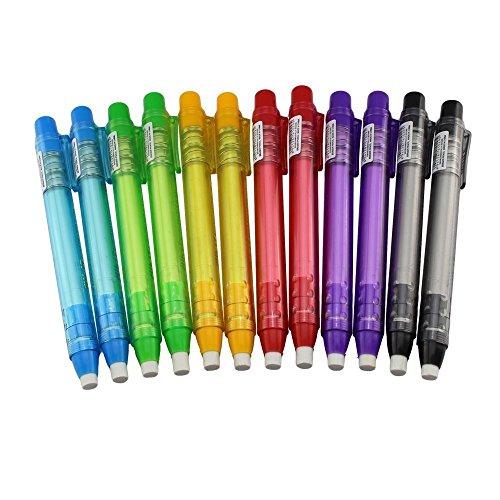 Shulaner schattig expressie pinda's wens gum voor student of kind geschenk, pak van 20 12x Pen Shaped Eraser