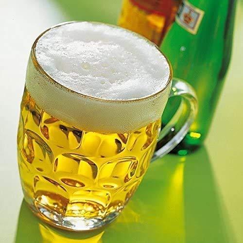 ML Pack de 2 Jarras para Cerveza 2 Vasos Jarra de Cristal...