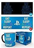 GB Eye, Playstation, Eat Sleep Repeat, Taza Mágica cambiante de color