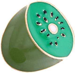 GLOA Brooch Pin, Cute Cartoon Enamel Mini Fruit Denim Jacket Shirt Collar Badge GiftApple