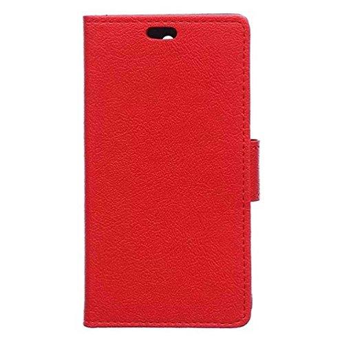 PU Leder Etui Hülle im Bookstyle Handy Tasche für Acer Liquid Zest Z525 / Zest 4G Z528 Schutzhülle Schale Flip Cover Wallet Case (H12#)