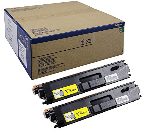 Brother TN-900YTWIN Toner für HL-L9200CDWT, MFC-L9550CDWT, gelb