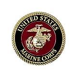 USMC Medallion – 2.25 Inches – Marine Corps EGA Eagle Globe Anchor Emblem