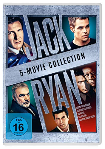 Jack Ryan 5 Movie Collection [5 DVDs]