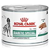 Royal Vet Canine Diabetic Spal Low Caja 12X195Gr 2340 g