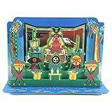 春カード 子供の日立体カード 三段鎧飾り KAR-700-867 (DD-3) 立体カード グリーティングカード ホールマーク