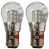 MCK Auto - Sostituzione per P21W BAY15d 1157 LED CanBus Set di lampadine a luce rossa molto chiare e senza errori compatibili con Transit