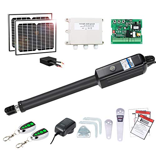 A8S Automatic Solar Powered Gate Opener Kit by Topens