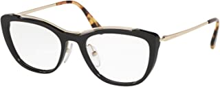 Prada Optical Frame for Women, Acetate - Black