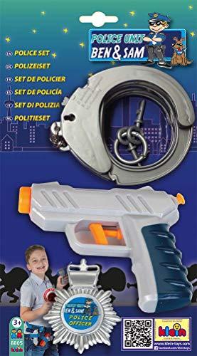 Theo Klein-8805 Police Unit Ben y Sam Set De Policia, Juguete, Multicolor (8805)