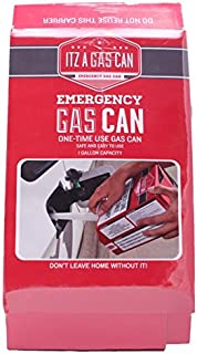 ItzaGasCan Emergency One-Time Use Gas Can