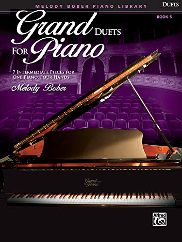 Grand Duets for Piano, Bk 5: 7 Intermediate Pieces for One Piano, Four Hands