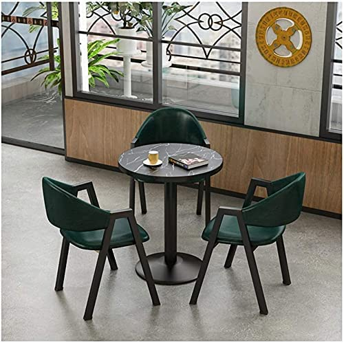 ZHZH Dining Table and Chair Set OFFicial Chai Mesa Mall Chairs 1 PU 3 Leather