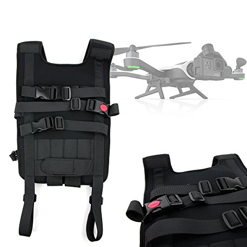 DURAGADGET Mochila/Arnés Ajustable para tranporte de Dron GoPro Karma Drone