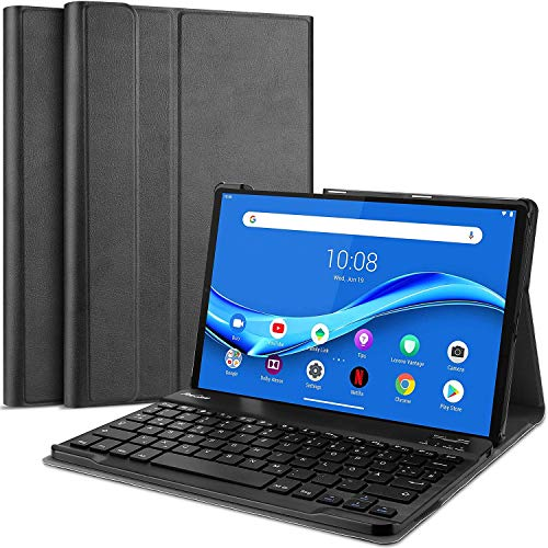 ProCase Keyboard Case for Lenovo Tab M10 Plus 10.3 Inch FHD Tablet (TB-X606F / TB-X606X), Lightweight Slim Cover with Magnetically Detachable Wireless Keyboard –Rosegold
