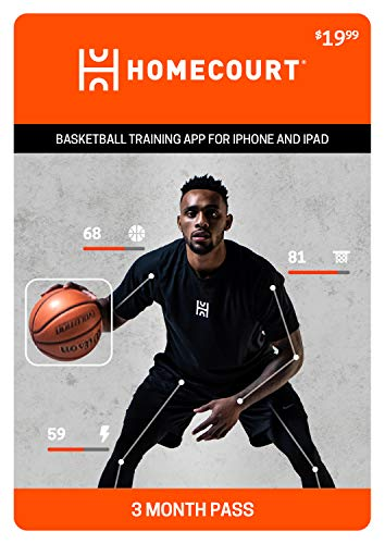 HomeCourt | Basketball training app for iPhone and iPad | Official partner of the NBA | 3-Month Pass [Online Code]
