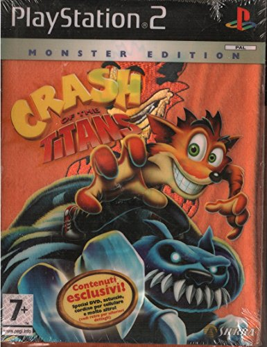 Crash Of The Titans PS2 Monster Edition