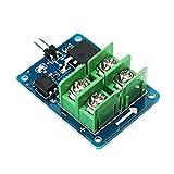 Módulo electrónico 3V 5V Control de Baja Alta Tensión 12V 24V 36V MOS transistor de efecto de campo del módulo controlador de motor de velocidad 3 piezas Equipo electrónico de alta precisión