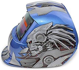 Reboot Red/Blue pattern Protective Welder Helmet mask Solar Energy Automatic Changeable Light Electric Welding Helmet Mask...