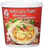 Cock Currypaste rot, mittelscharf, authentisch thailändisch Kochen, natürliche Zutaten, vegan, halal und glutenfrei (1 x 400 g)
