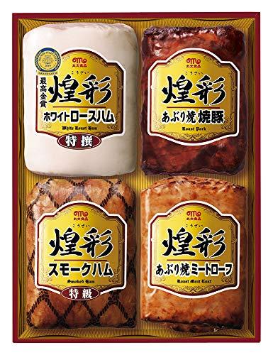 お中元 丸大食品「煌彩ハムギフト(KK-504)」【お届け期間:6月19日〜8月2日頃】