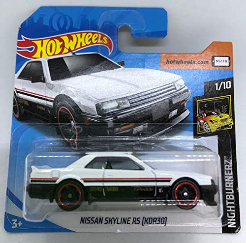 2019 Hot Wheels Nissan Skyline RS (KDR30) White 1/10 HW NightBurnerz 48/250 (Short Card)