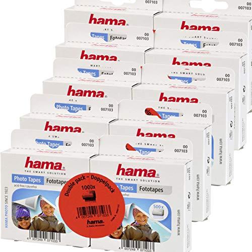 Hama Fototapes (5000 Fotokleber, doppelseitig selbstklebend, Fotokleber geeignet für Alben, Klebepads)