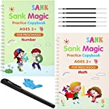 2 Stücke Magisch Schreiben Pasten Kinder vor Schule Rillen