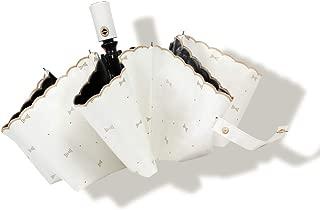 日傘 ワンタッチ自動開閉 折りたたみ傘 レディース 晴雨兼用 uvカット 完全遮光 遮熱 折り畳み傘 耐風撥水 紫外線遮断 8本骨 おりたたみ傘 収納ポーチ付き