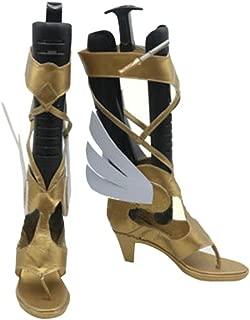 DUNHAO COS Anime Overwatch Mercy Angela Ziegler Halloween Cosplay Custom Made Shoes Boot