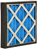 GVS Filter Technology G4P.15.15.4.SUA001.005 G4 Filtro a pannello plissettato, Blu/Bianco (Scatola da 5)