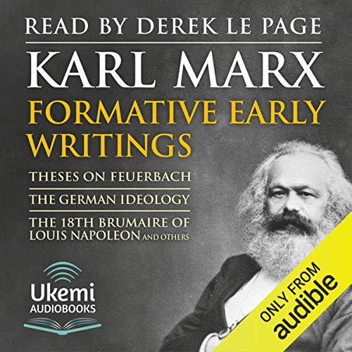 Formative Early Writings by Karl Marx cover art